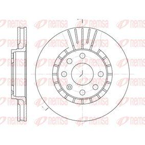 Bremsscheibe Bremsscheibendicke: 24mm, Lochanzahl: 6, Ø: 256mm, Ø: 256mm mit OEM-Nummer 9025-0546