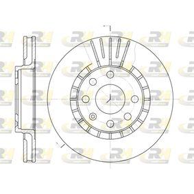 Bremsscheibe Bremsscheibendicke: 24mm, Lochanzahl: 6, Ø: 256mm, Ø: 256mm mit OEM-Nummer 9048 7402