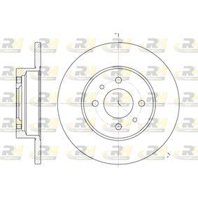 ROADHOUSE  6180.00 Bremsscheibe Bremsscheibendicke: 12mm, Lochanzahl: 4, Ø: 257mm