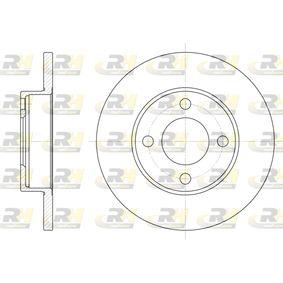 Bremsscheibe Bremsscheibendicke: 13mm, Lochanzahl: 4, Ø: 256mm mit OEM-Nummer 431.615.301