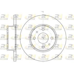 Bremsscheibe Bremsscheibendicke: 14mm, Lochanzahl: 4, Ø: 257mm, Ø: 257mm mit OEM-Nummer 82434169