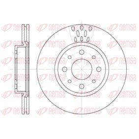 Bremsscheibe Bremsscheibendicke: 20mm, Lochanzahl: 4, Ø: 257mm, Ø: 257mm mit OEM-Nummer 5 174 912 4