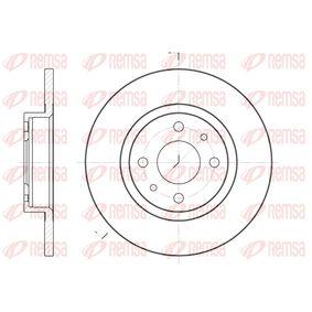 Brake Disc 6191 00 PUNTO (188) 1.2 16V 80 MY 2006
