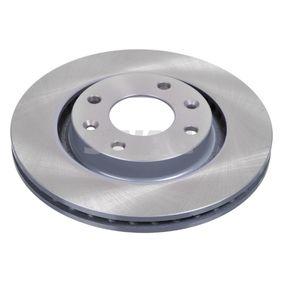 Bremsscheibe Bremsscheibendicke: 22mm, Ø: 266,0mm mit OEM-Nummer 16 18 890 480