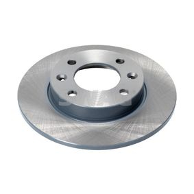 SWAG Brake disc kit Rear Axle, Solid, 37