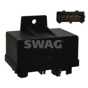 Relais, Glühanlage Spannung: 12V, schwarz, Anschlussanzahl: 7 mit OEM-Nummer 9625203680