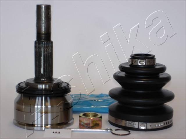 ASHIKA  62-01-102 Gelenksatz, Antriebswelle Außenverz.Radseite: 25, Innenverz. Radseite: 23