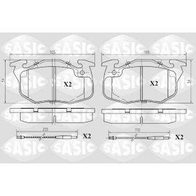 Bremsbelagsatz, Scheibenbremse Dicke/Stärke: 17,3mm mit OEM-Nummer 424862