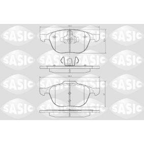 Bremsbelagsatz, Scheibenbremse Dicke/Stärke: 18,1mm mit OEM-Nummer 1809256