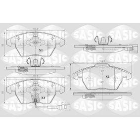 Bremsbelagsatz, Scheibenbremse Dicke/Stärke: 19,9mm mit OEM-Nummer 3C0.698.151A