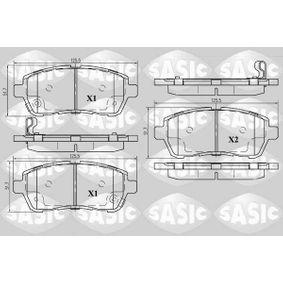 Bremsbelagsatz, Scheibenbremse Dicke/Stärke: 16,2mm mit OEM-Nummer 24285
