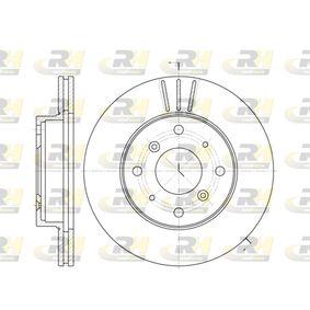 Спирачен диск 6225.10 800 (XS) 2.0 I/SI Г.П. 1999