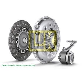 Clutch Kit Ø: 240mm with OEM Number 02M 141 671A