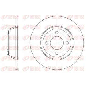 Bremsscheibe Bremsscheibendicke: 13mm, Lochanzahl: 4, Ø: 280mm, Ø: 280mm mit OEM-Nummer 8A0 615 301 D