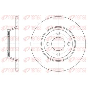 Bremsscheibe Bremsscheibendicke: 13mm, Lochanzahl: 4, Ø: 280mm, Ø: 280mm mit OEM-Nummer 8A0 615 301