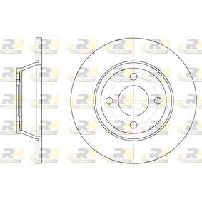 Bremsscheibe Bremsscheibendicke: 13mm, Lochanzahl: 4, Ø: 280mm, Ø: 280mm mit OEM-Nummer 8A0.615.301