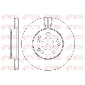Bremsscheibe Bremsscheibendicke: 22mm, Lochanzahl: 5, Ø: 284mm mit OEM-Nummer 1244211612