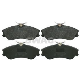 Bremsbelagsatz, Scheibenbremse Breite: 56,2mm, Dicke/Stärke 1: 19mm mit OEM-Nummer E172536