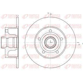 Bremsscheibe Bremsscheibendicke: 10mm, Lochanzahl: 5, Ø: 245mm, Ø: 245mm mit OEM-Nummer 8D0 615 301 B