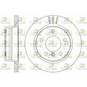Bremsscheibe Bremsscheibendicke: 19mm, Lochanzahl: 5, Ø: 276mm, Ø: 276mm mit OEM-Nummer 34 21 1 165 211