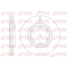 Bremsscheibe Bremsscheibendicke: 26mm, Lochanzahl: 6, Ø: 277mm mit OEM-Nummer 23-0349