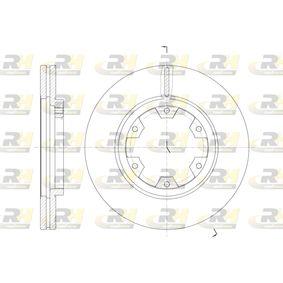 Bremsscheibe Bremsscheibendicke: 26mm, Lochanzahl: 6, Ø: 277mm mit OEM-Nummer 1954433
