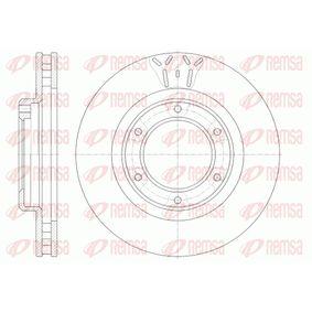 Bremsscheibe Bremsscheibendicke: 32mm, Lochanzahl: 6, Ø: 311mm mit OEM-Nummer 43512-60090