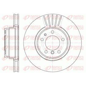Bremsscheibe Bremsscheibendicke: 28mm, Lochanzahl: 5, Ø: 316mm, Ø: 316mm mit OEM-Nummer 34.11.1.162.093