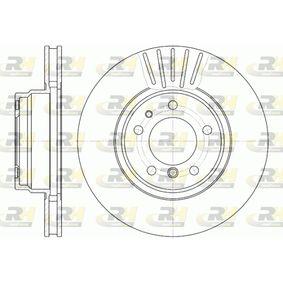 Bremsscheibe Bremsscheibendicke: 28mm, Lochanzahl: 5, Ø: 316mm, Ø: 316mm mit OEM-Nummer 34111162093
