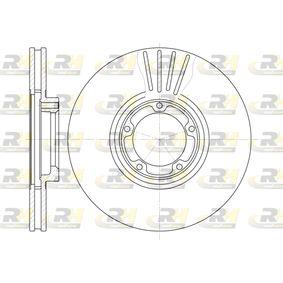Bremsscheibe Bremsscheibendicke: 24mm, Lochanzahl: 5, Ø: 254mm mit OEM-Nummer 5025 610