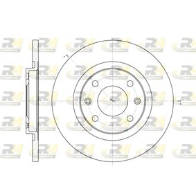 2003 Citroen C3 Mk1 1.4 HDi Brake Disc 6536.00