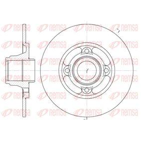 Bremsscheibe Bremsscheibendicke: 8mm, Lochanzahl: 4, Ø: 238mm mit OEM-Nummer 7701204302