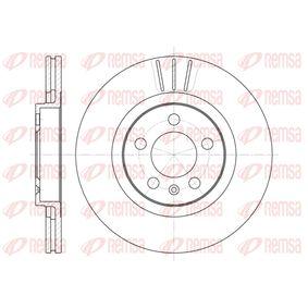 Bremsscheibe Bremsscheibendicke: 22mm, Lochanzahl: 5, Ø: 280mm, Ø: 280mm mit OEM-Nummer 1J0615301M