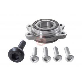Wheel Bearing Kit Inner Diameter: 45mm with OEM Number 4F0 598 625 B