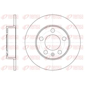 Bremsscheibe Bremsscheibendicke: 9mm, Lochanzahl: 5, Ø: 232mm mit OEM-Nummer 1J0 615 601 N