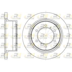 Disco freno 6552.00 L 400 Bus (PD_W, PC_W, PA_V, PB_V, PA_W) 2.5 TD 4WD ac 2000