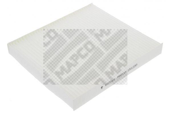 MAPCO  65549 Filter, Innenraumluft Länge: 217mm, Breite: 195mm, Höhe: 25mm