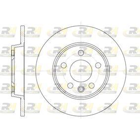 Bremsscheibe Bremsscheibendicke: 12mm, Lochanzahl: 5, Ø: 280mm, Ø: 280mm mit OEM-Nummer 701615601A