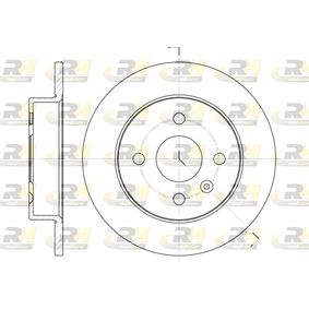 Brake Disc 6570.00 Astra Mk5 (H) (A04) 1.8 MY 2005