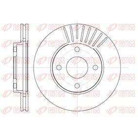Brake Disc Brake Disc Thickness: 22mm, Num. of holes: 4, Ø: 258mm, Ø: 258mm with OEM Number 98AB 1125 BD