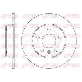 Bremsscheibe Bremsscheibendicke: 10mm, Lochanzahl: 5, Ø: 264mm, Ø: 264mm mit OEM-Nummer 90 575 113