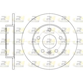 Bremsscheibe Bremsscheibendicke: 10mm, Lochanzahl: 5, Ø: 264mm mit OEM-Nummer 90 575 113