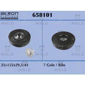 Belt Pulley, crankshaft with OEM Number 82 00 817 574