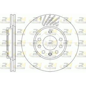 ROADHOUSE Disc frana 6584.10 cu OEM Numar 9117678
