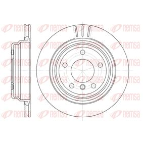 Bremsscheibe Bremsscheibendicke: 20mm, Lochanzahl: 5, Ø: 298mm, Ø: 298mm mit OEM-Nummer 34211163153