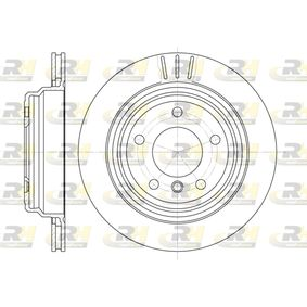 Bremsscheibe 6588.10 5 Touring (E39) 528i 2.8 Bj 2000