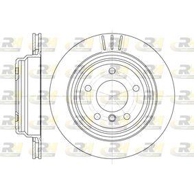 Bremsscheibe Bremsscheibendicke: 20mm, Lochanzahl: 5, Ø: 298mm, Ø: 298mm mit OEM-Nummer 34.21.1.163.153