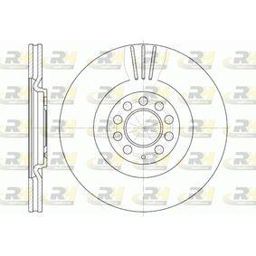 ROADHOUSE  6597.10 Bremsscheibe Bremsscheibendicke: 25mm, Lochanzahl: 5, Ø: 312mm