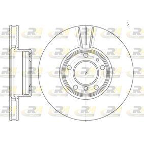 ROADHOUSE  6599.10 Bremsscheibe Bremsscheibendicke: 24,9mm, Lochanzahl: 5, Ø: 324mm