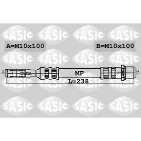 Bremsschlauch Länge: 238mm, Gewindemaß 2: M10X100 mit OEM-Nummer 7H0.611.776B
